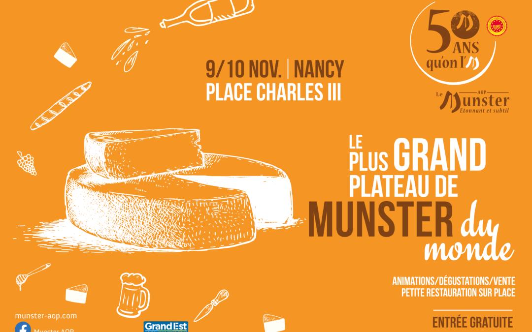 Les 9 & 10 novembre, l'AOP Munster fête ses 50 ans !